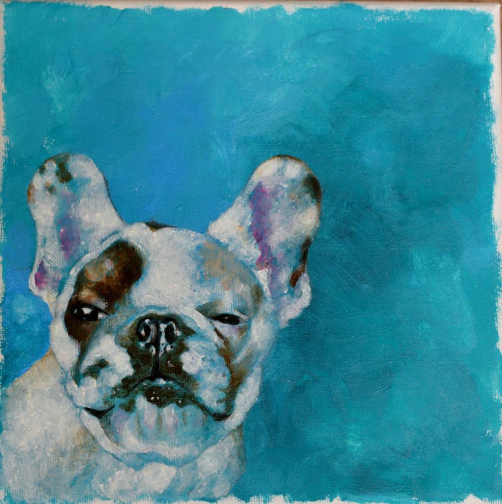 julia osborne dog painting