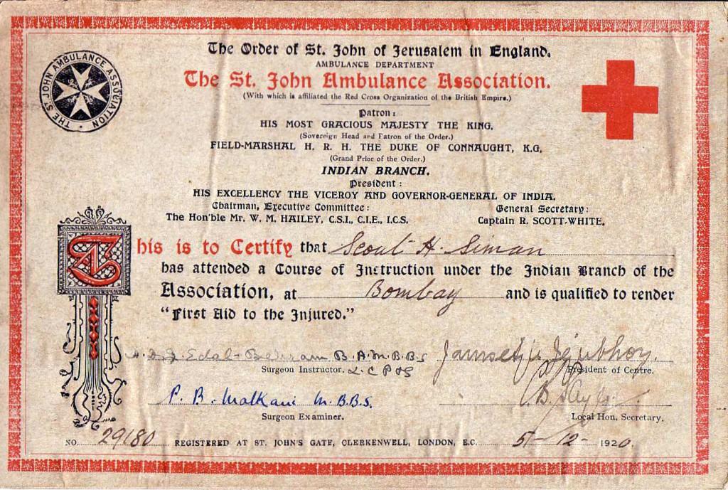 1920 NHSFirstAidercert1920