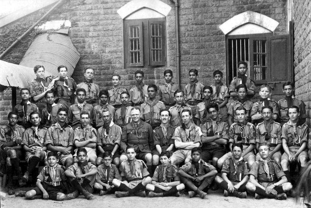 postal strike Bombay scout