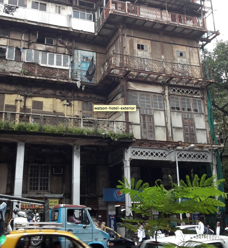 Mahendra Mansion, Esplanade Road Bombay 2014