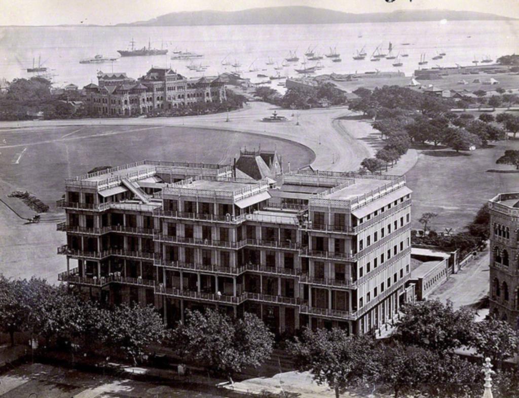 Mahendra Manison in 1930's