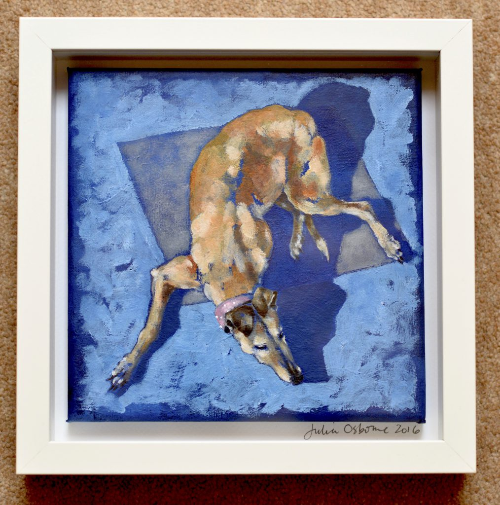 julia osborne pet painting acrylics by commission