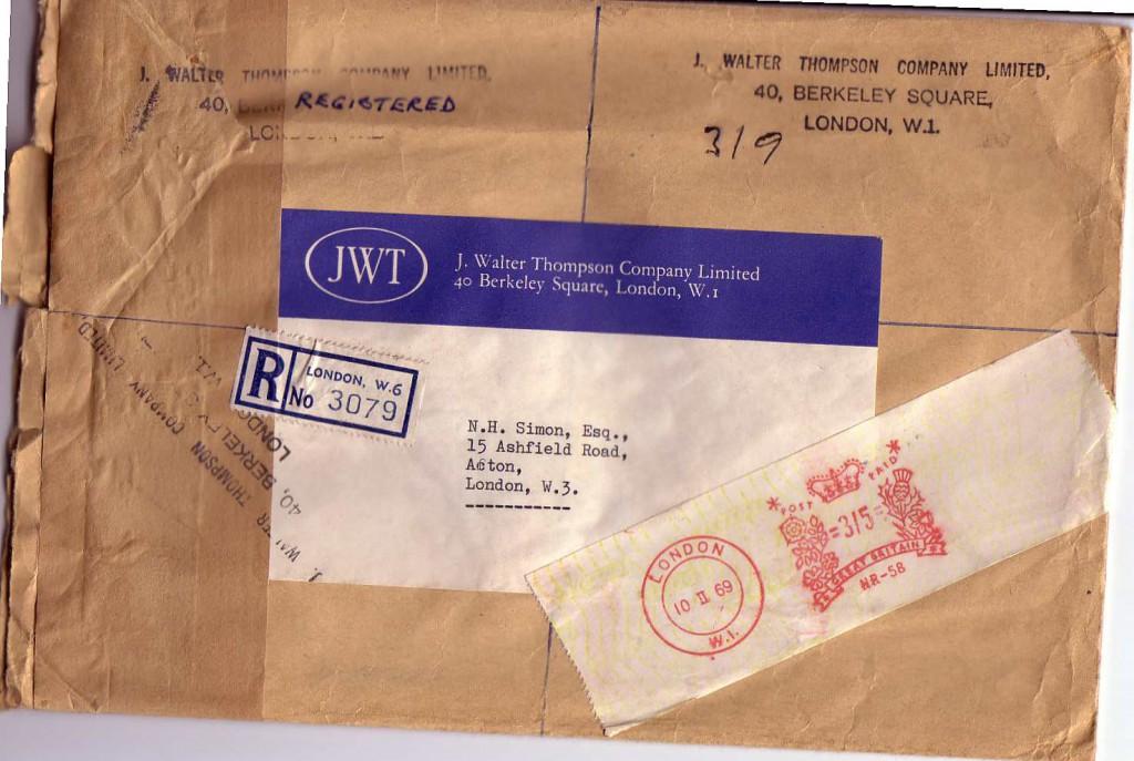 1968 JWTenvelope1968